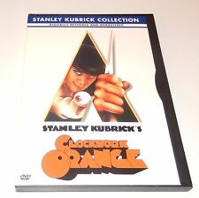 Clockwork Orange Malcom McDowell  (DVD, 2001, Stanley Kubrick Collection) WS