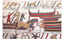 """Bayeux-II Medieval Old World Tapestry Wall Hanging, Cotton 100%, 55""""x31"""""""