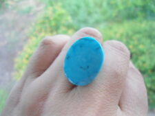 24.45 Carats NATURAL Blue TURQUOISE Birthstone for Jewelry Setting Oval