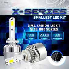 200W 20000LM CREE LED 6000K White Fog Light Conversion Kit - 880 881 893 899 (A)