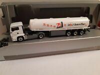 MAN TGS  abs bonifer Mineralöl-Sped. 63073 Offenbach a.M Tankfahrzeug 75 Jahre