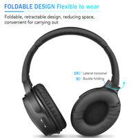 Foldable Bluetooth Wireless Over-Ear Stereo Bass Headphones Sports Headset IPX5