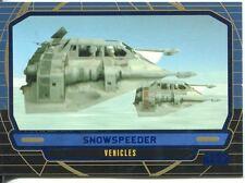 Star Wars Galactic Files Blue Parallel #277 Snowspeeder