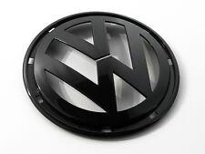 VW Jetta MK5 MKV 5 Matte Black Grill Front Hood Euro Badge Emblem Logo MK V