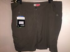 NWT Womn's Nat'l Geographc Craghoppers Insect Shield Pro Lite Hiking Shorts US16