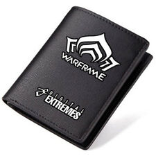 New Arrivals Game Warframe Logo PU Leather Wallet High Quanlity