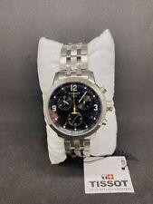 Tissot T055.417.11.057.00 PRC 200 Chronograph Men's Watch Stainless Steel/Black