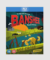 Banshee Season 4 Blu-ray [Region Free] Complete Fourth Season Crime Drama Series