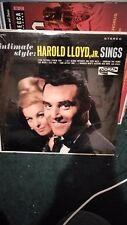harold lloyd jr sings sealed new original first pressing dl-757471
