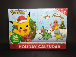 Pokemon 24 Gift Holiday / Advent Calendar.  16 Figures + 6 acc.  BRAND NEW!