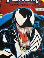 Venom Lethal Protector #1 ~ 1993 ~ Marvel Comics Red Foil