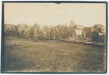 Foto Batterie verladen auf Eisenbahnwaggon 2. Batterie 39.Fußartl.Batl. (A608)