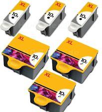 6x DRUCKER PATRONE für KODAK 10 XL ESP3 ESP7 ESP 5 9 3250 5210 5220 5230 5250