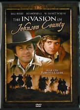 INVASION OF JOHNSON COUNTY rare Western Wyoming dvd BO HOPKINS Bill Bixby 1980s