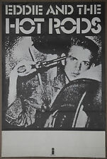 Eddie and the Hot Rods Teenage Depression Album Promo Poster 1970