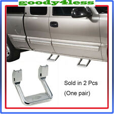 1Pair (2pcs) SIDE STEP For Ford F150 F250 UNIVERSAL ALUMINUM ADJUSTABLE NERF SET