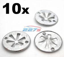 10x Volkswagen Metal Locking Star Washers- VW Underbody Heat Shield Fasteners