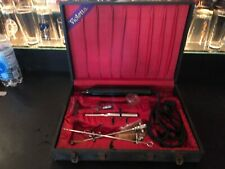 MEDICAL QUACKERY Renulite Violet Ray Machine and Wands Cystoscope Instruments