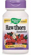 Hawthorn Standardized - 90 Capsules - Nature's Way FAST SHIPPING