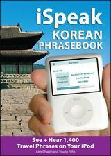 iSpeak Korean Phrasebook (MP3 Disc): See + Hear 1,200 Travel Phrases on Your iP