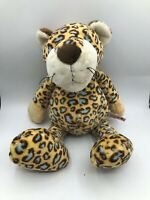 Official NICI Wild Friends Blue Leopard Plush Kids Soft Stuffed Toy Animal Doll