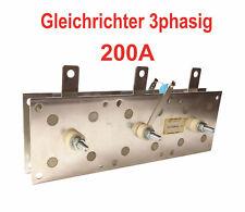 Gleichrichter 200A / 380V MIG/MAG Schweißgerät - Schutzgas Schweißen