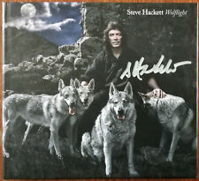 More details for steve hackett wolflight special edition cd + blu-ray mediabook – signed – mint