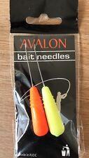 Mosella Avalon Hi-Viz Baiting Needles. Free P&P