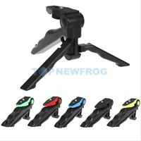 2 in1 Mini Hand Grip Folding Fexible Tripod Stand for 1/4'' Screw Camera Phone