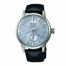 Seiko PRESAGE Cocktail Time Sunburst Dial Men's Watch - Black/Silver
