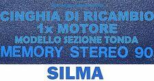 ★CINGHIA DI RICAMBIO MOTORE 1 x CINE PROIETTORE SUPER 8 mm SILMA MEMORY 90 ★