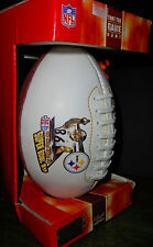 "Super Bowl XL MVP Hines Ward Pittsburgh Steelers Football 9"" NEW IN BOX"