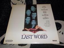 The Last Word Laserdisc LD Timothy Hutton Joe Pantoliano Free Ship $30 Orders