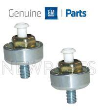 For Chevy Cadillac GMC Pontiac Pair Set of Two Knock Sensors Genuine 12589867