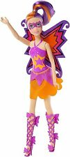 Barbie in Princess Power hero Maddy doll purple and orange CDY66