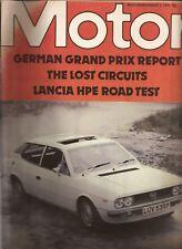 Motor Magazine August 7th 1976. Lancia HPE. Vauxhall Cavalier. Russell Brookes.