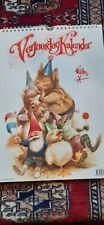 All Season Birthday Calendar Rien Poortvliet Gnome & Friends Stunning Artwork