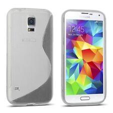 Samsung Galaxy S5 mini Tasche Handy Hülle Transparent Silikon Schutzhülle Cover