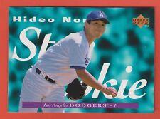 1995 Upper Deck Star Rookie RC Hideo Nomo Los Angeles Dodgers #226