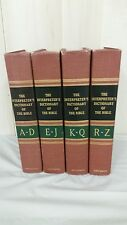 THE INTERPRETER'S DICTIONARY OF THE BIBLE, four vol., A-Z, copyright 1962