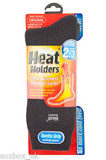Ladies Plain Thermal Heat Holder Socks size 4-8 Uk, 37-40 Eur, 5-9 us Charcoal