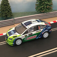 Scalextric 1:32 Car - C2802 Ford Focus 4WD WRC 2006 #3 Gronholm *LIGHTS* #C