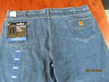 NWT NEW Carhartt Relaxed Fit Tapered Leg Jean B17 DST 50 x 30