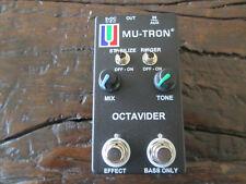 Mu-Tron Octavider Octave Divider Pedal Limited Edition Black -- The Legend