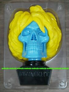 Ron English Warhol Skull Bust Yellow & Blue KR Exclusive LTD100 Signed near MINT