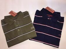 R.M. Williams Short Sleeve Striped Casual Shirts for Men