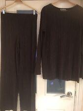 Ladies Clothes Size Medium Zara Wb Top & Trousers  (655)