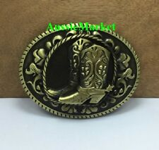 1 x mens ladies girls belt buckle boots tamworth country dance music jeans shoes