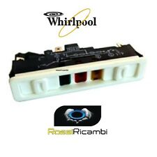 WHIRLPOOL UNIVERSALE BLOCCHETTO  INTERUTTORI PER CONGELATORE 75 X 13 mm.