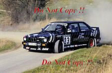 Andreas Wetzelsperger BMW M3 Sachs Winter Rally 1990 Photograph
